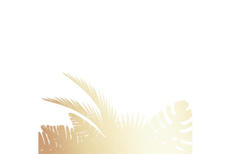 png-gold-nbsp-tropical-digital-paper