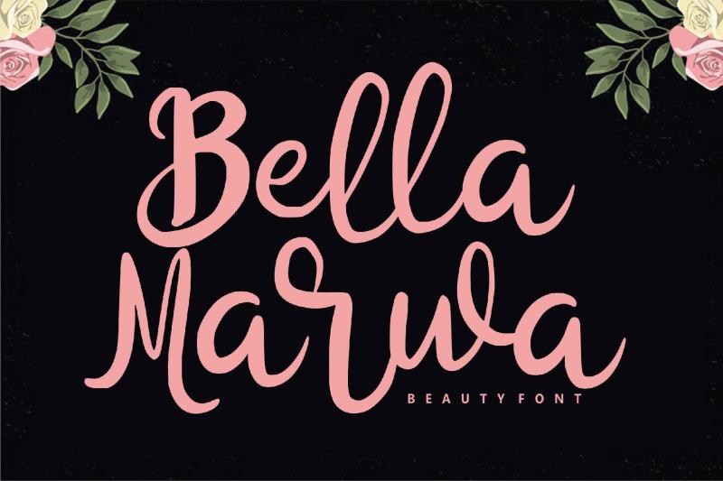 bella-marwa-beauty-font