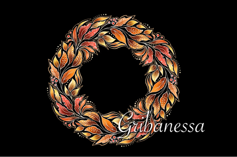 decorative-autumn-wreath