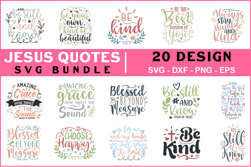 jesus-quotes-svg-bundle