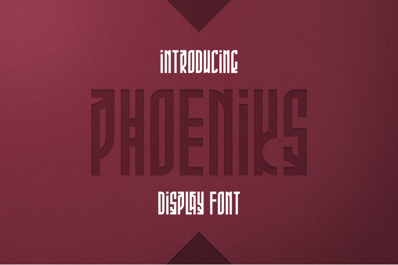 phoeniks-display-font