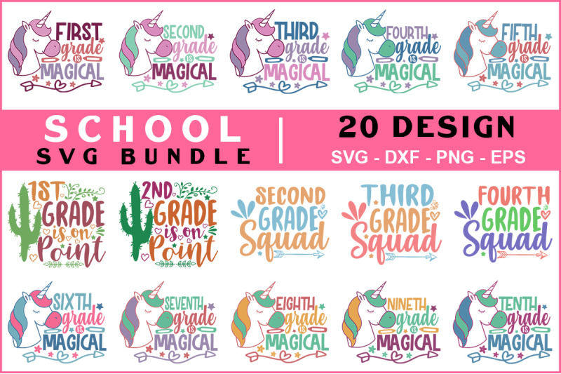 school-svg-bundle-vol-4