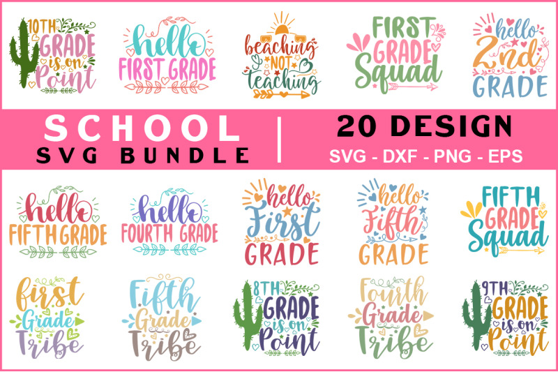 school-svg-bundle-vol-05