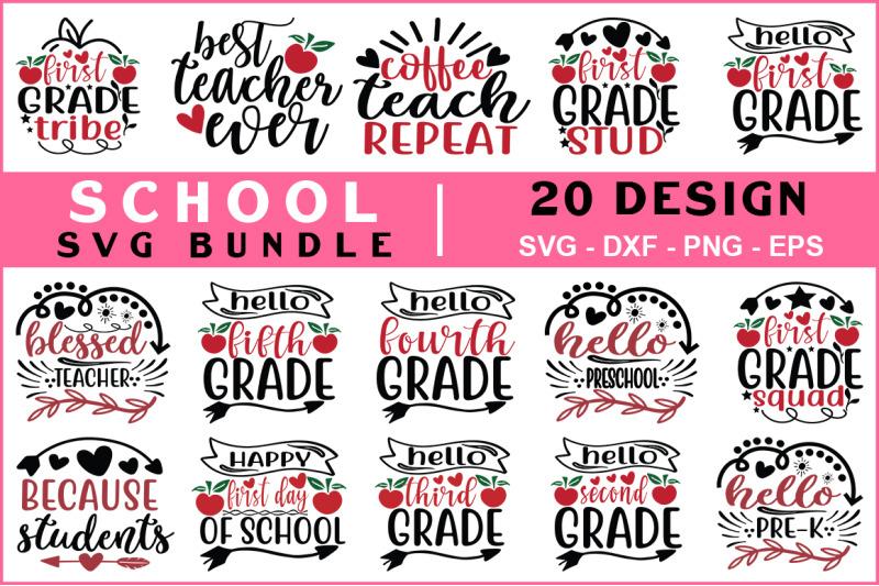school-svg-bundle-vol-08