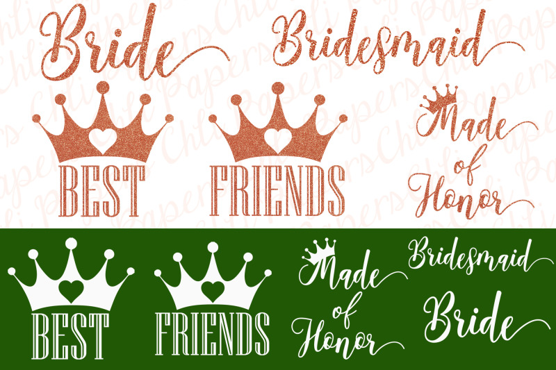 bride-and-bridesmaids-clipart-wedding-clipart-custom-bride