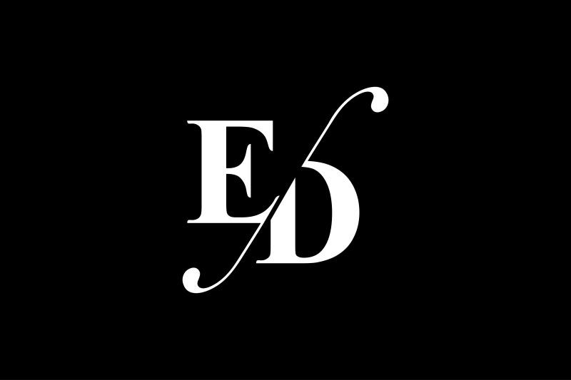 ed-monogram-logo-design