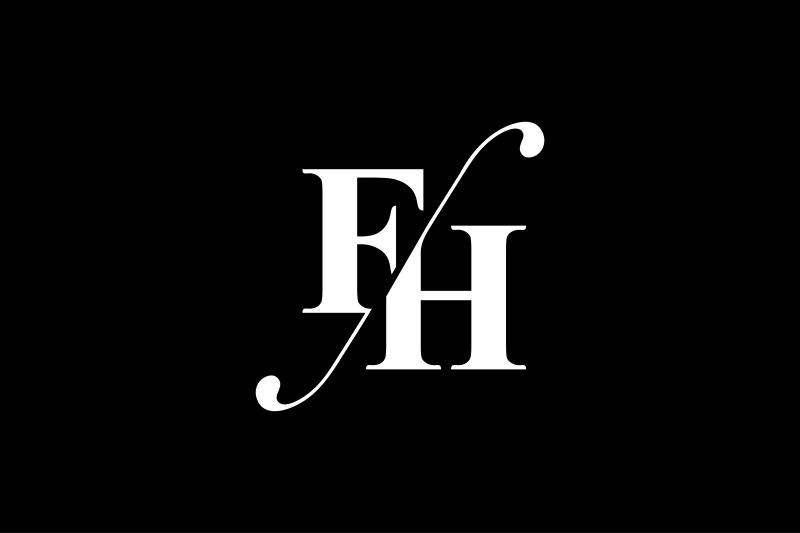 fh-monogram-logo-design