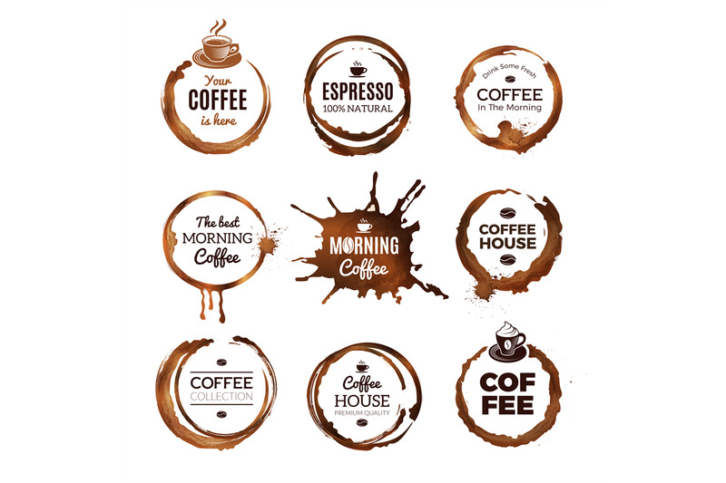 coffee-rings-labels-badges-design-with-circles-from-tea-or-coffee-esp