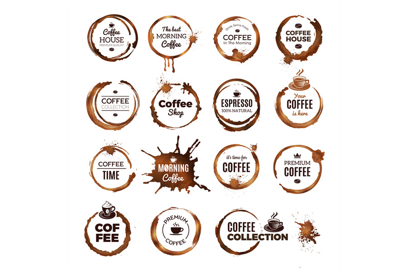 coffee-rings-badges-labels-with-dirty-circles-from-tea-or-coffee-cup