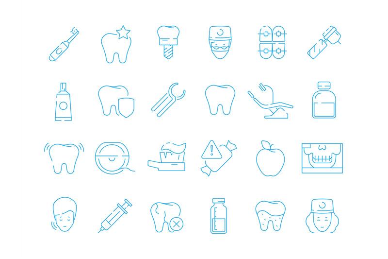 stomatology-icons-dental-teeth-protection-orthodontics-mouth-caries-e