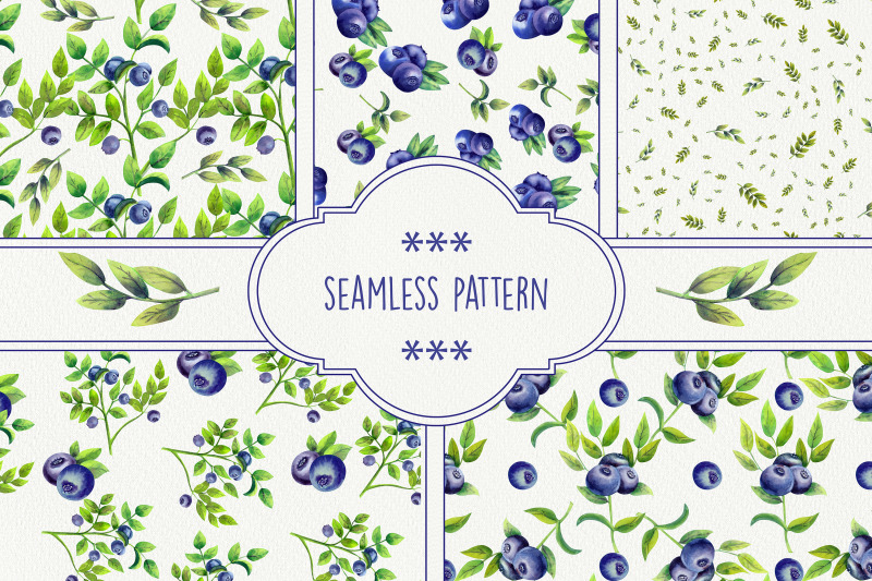 blueberry-explosion-10-seamless-patterns