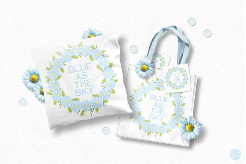 blue-flower-baby-shower-cute-drawings-plus-invitation-templates