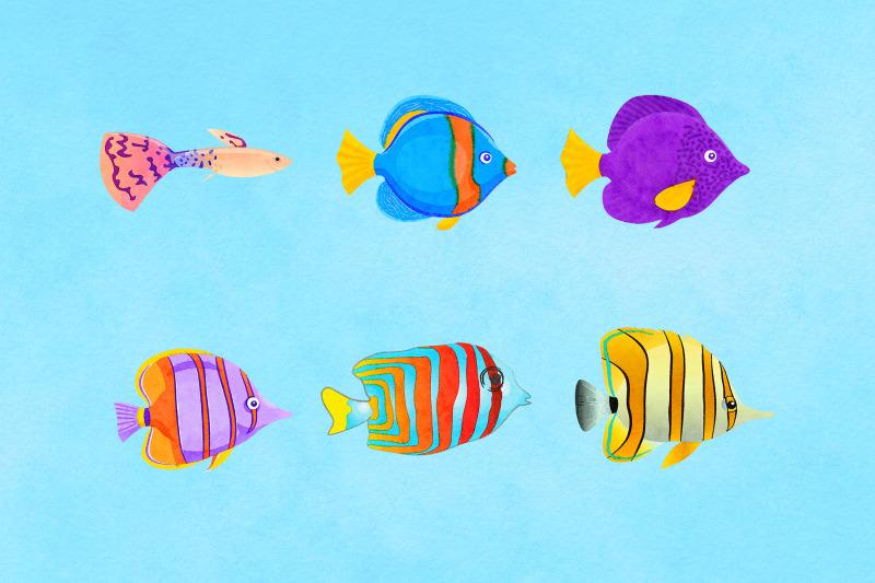 watercolor-fish-clipart