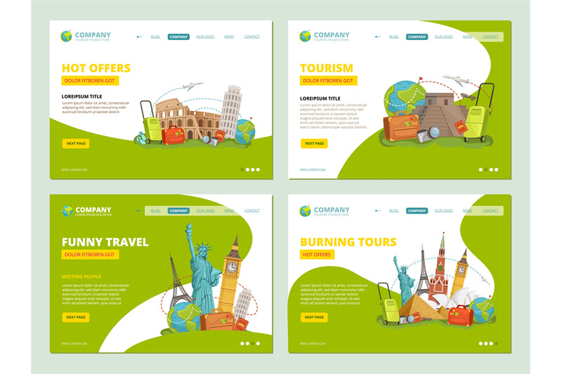 travel-landing-pages-historical-landmarks-points-of-interests-for-tra