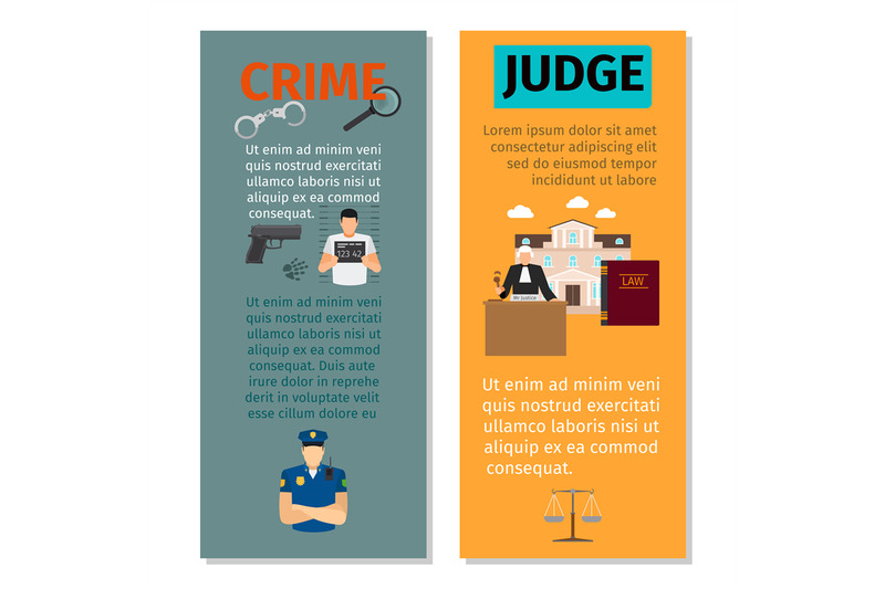 crime-and-judge-vertical-flyers