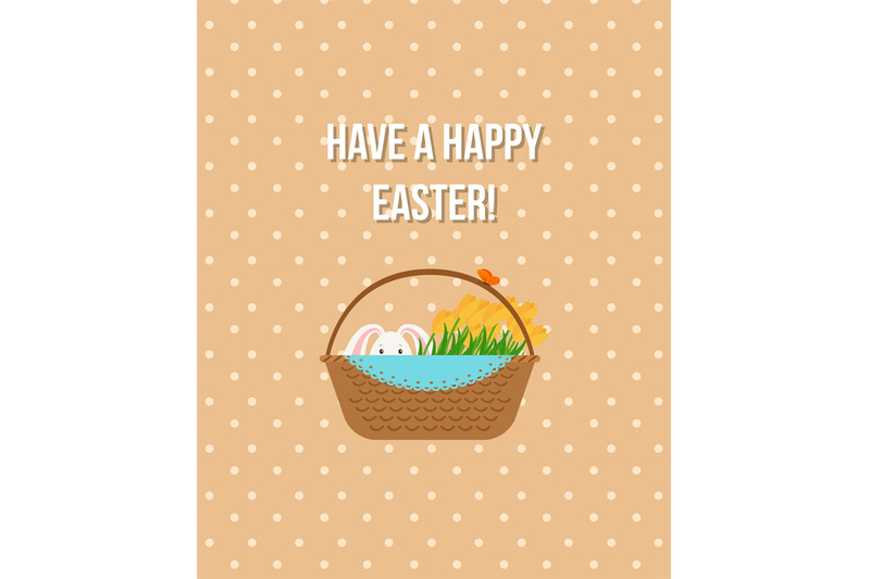 happy-easter-beige-greeting-card