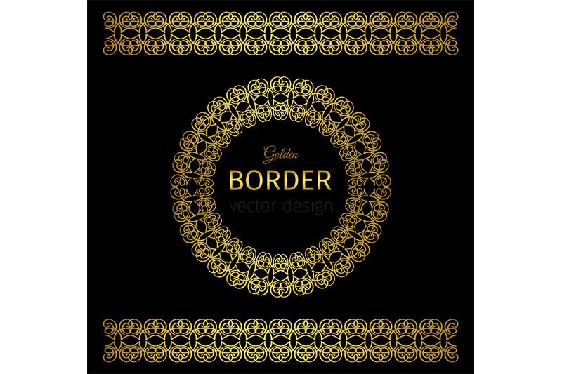 golden-border-and-rosette