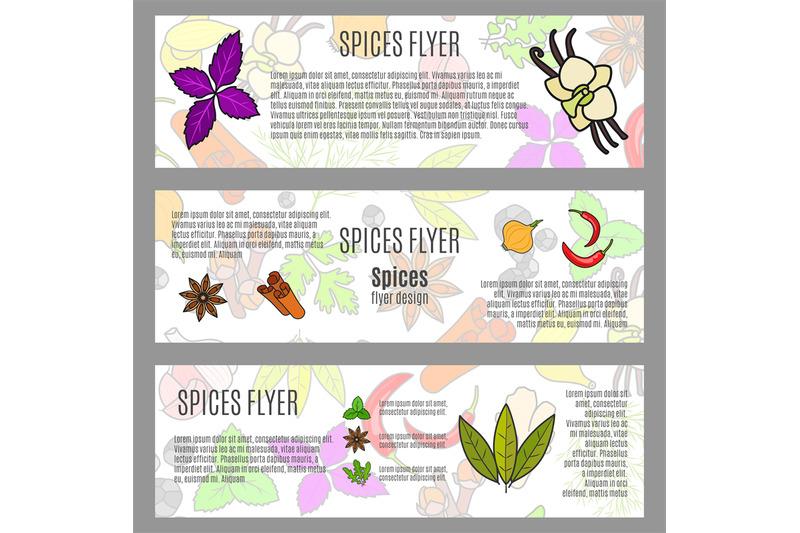 spices-horizontal-flyer-design