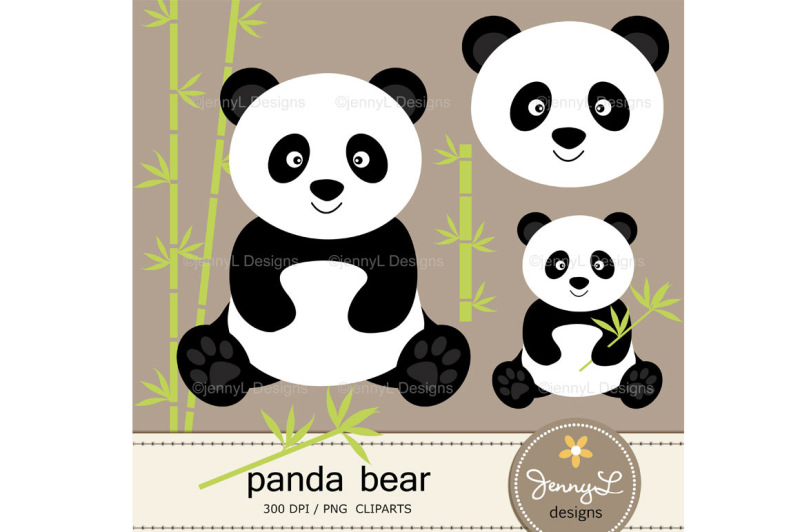 panda-bear-digital-papers-and-clipart