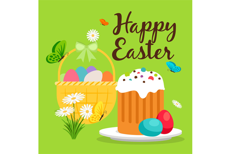 easter-basket-and-cake-greeting-card