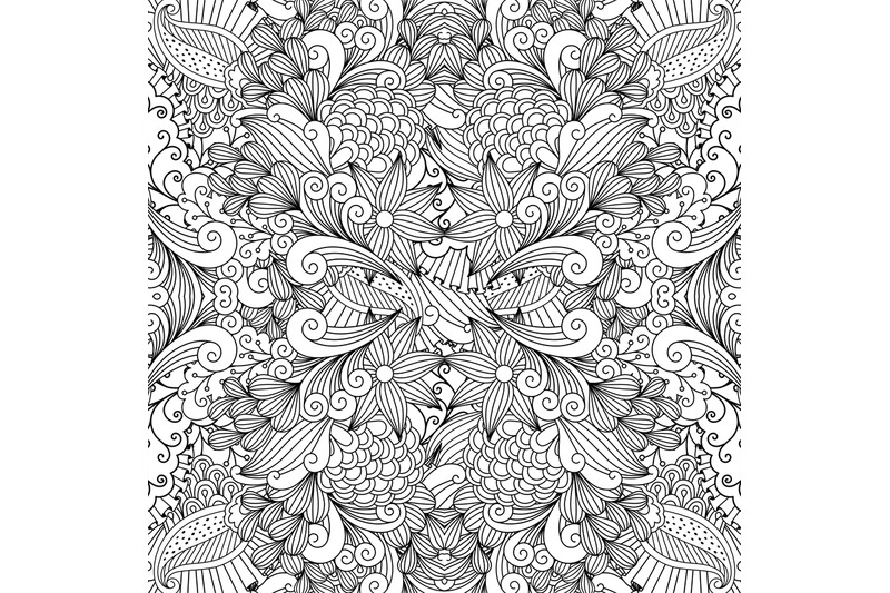 monochrome-summer-sketching-fabric-pattern