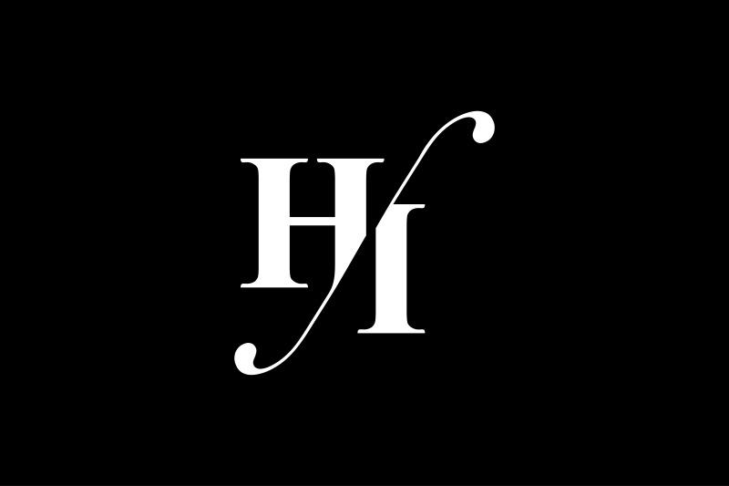 hi-monogram-logo-design