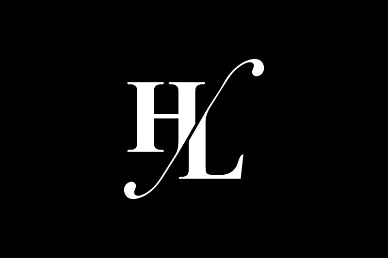 hl-monogram-logo-design