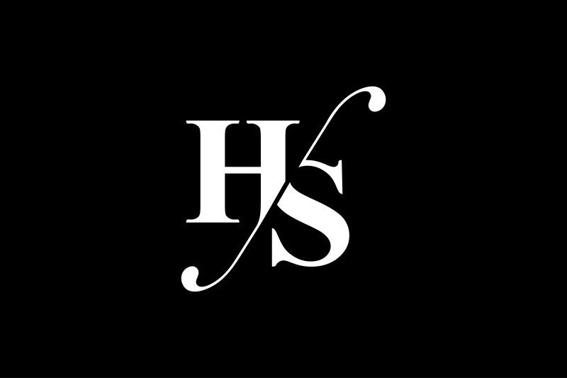 hs-monogram-logo-design