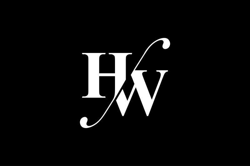 hw-monogram-logo-design