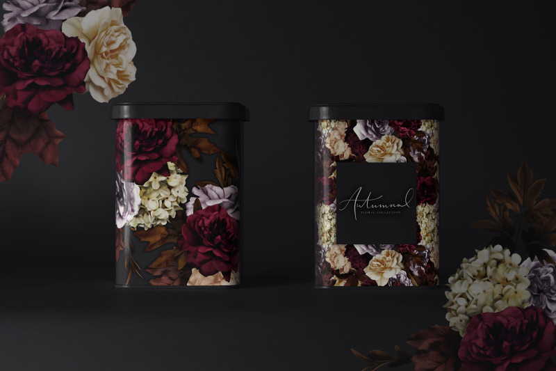autumnal-floral-graphics-collection