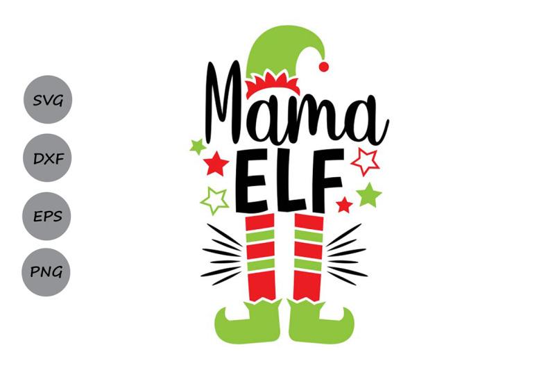 mama-elf-svg-christmas-svg-elf-svg-mom-svg-elf-hat-svg-santa-svg