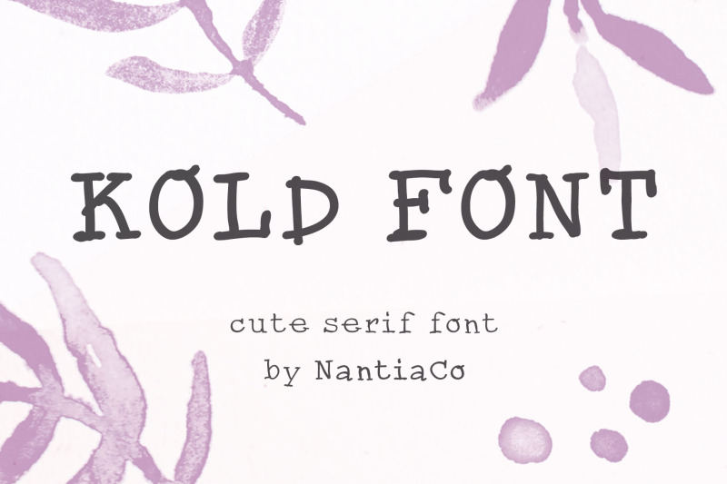 cute-serif-handwritten-font-kold