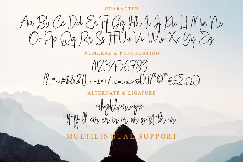 gllibfith-handwritten-style-font