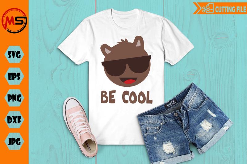 cool-llama-head-be-cool-svg-png-eps-file