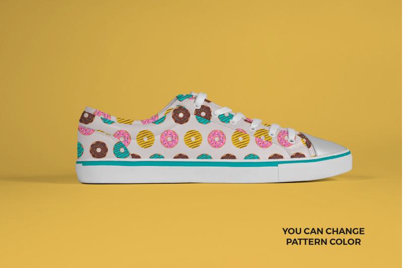 donuts-seamless-patterns