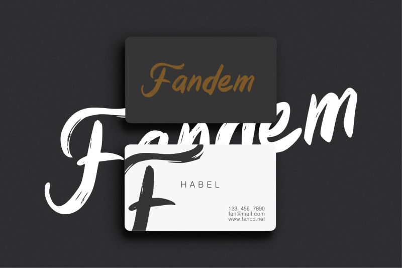 dreamland-handbrush-modern-font