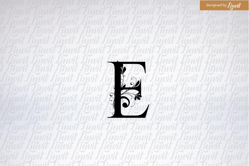 e-letter-e-font-e-monogram-e-initial