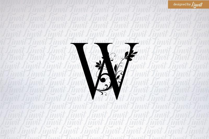 w-initial-w-monogram-w-logo-w-font-letter-w-w-letter