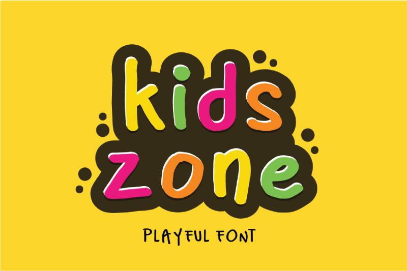 kids-park-playful-font