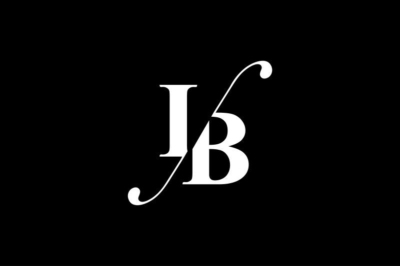 ib-monogram-logo-design