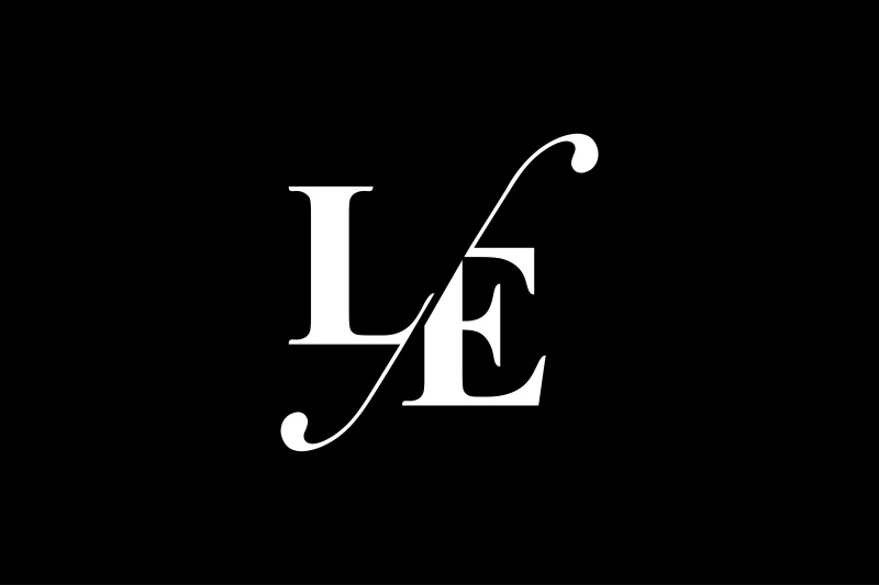 le-monogram-logo-design