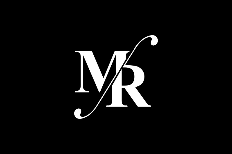 mr-monogram-logo-design