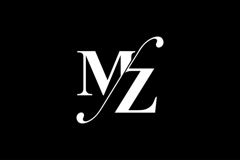mz-monogram-logo-design