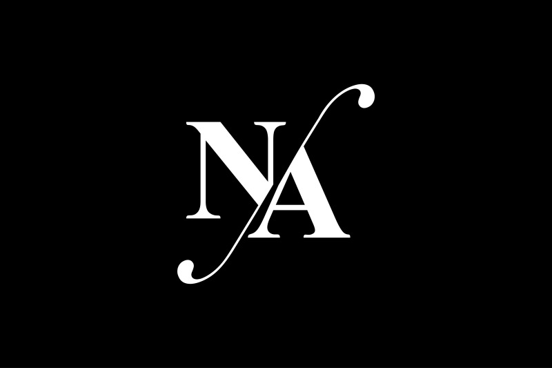 Na Monogram Logo Design By Vectorseller