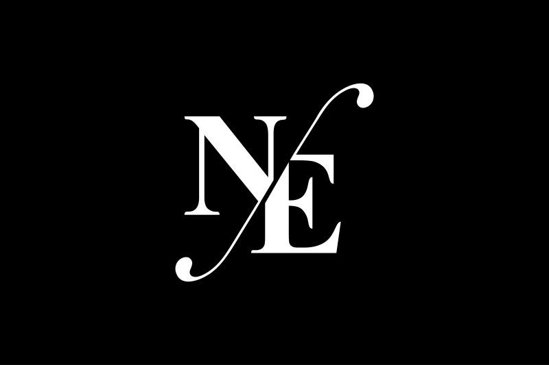 ne-monogram-logo-design