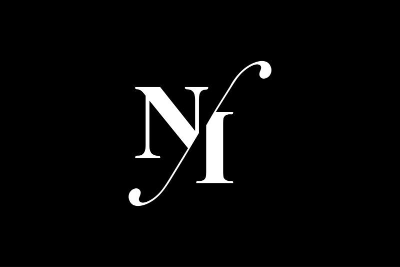 ni-monogram-logo-design