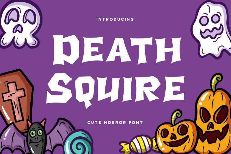 death-squire-cute-horror-font