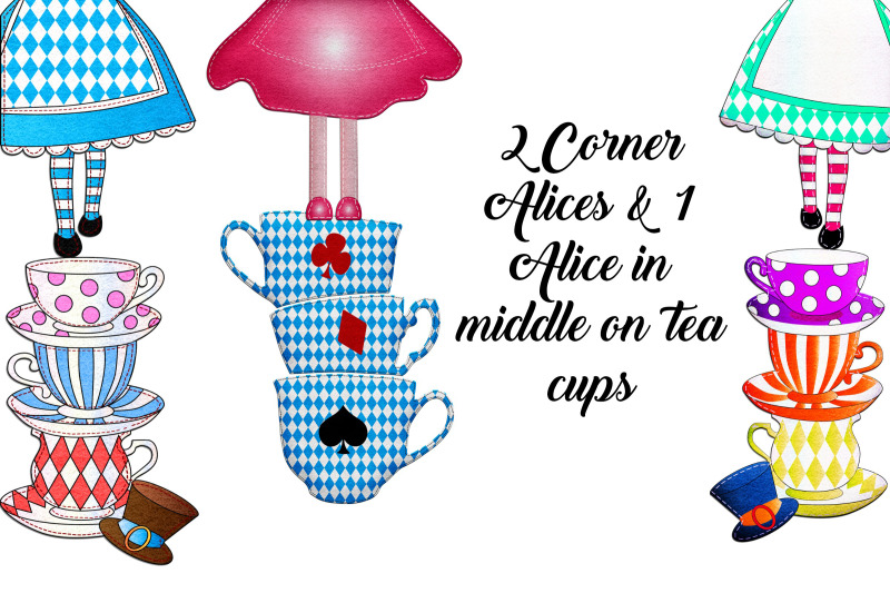 alice-in-wonderland-tea-party-mini-kit-clipart