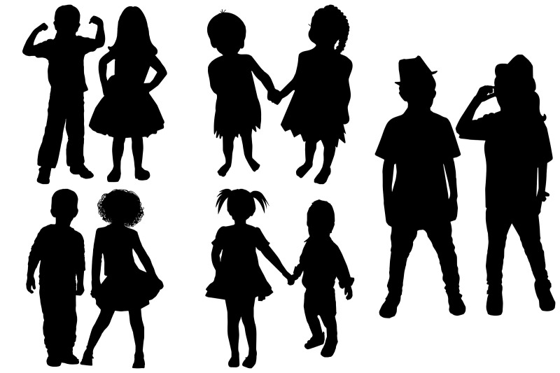little-boy-and-girl-couple-silhouettes-ai-eps-png