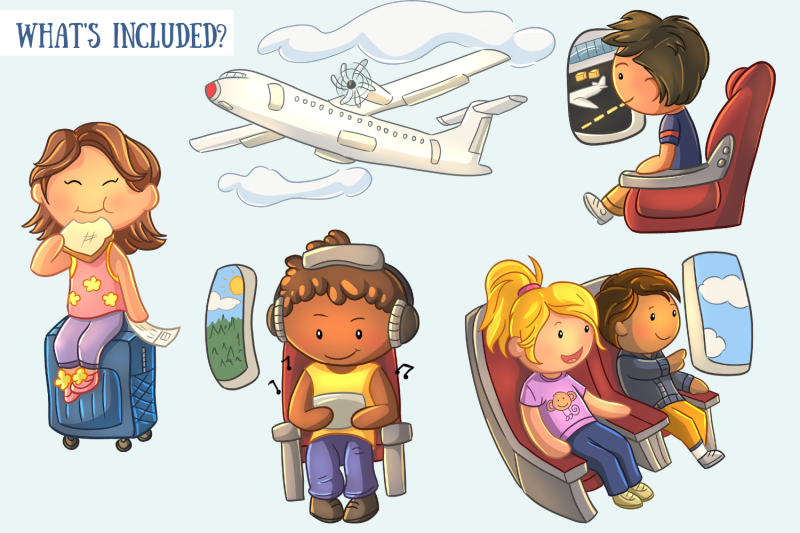 airplane-travel-clip-art-collection
